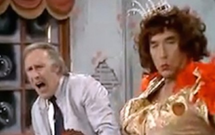 bruce forsyth and frankie howerd xmas 1973