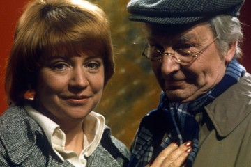 clive dunn stars in the itv sitcom my old man