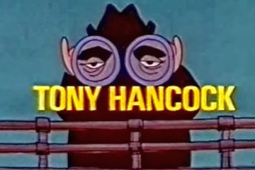 Title Card from tony hancock's final comedy series hancock down under