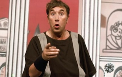 Frankie Howerd in up pompeii
