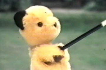 Sooty as he looked in the 1970's