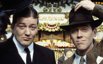 fry ana laurie star in jeeves and wooster