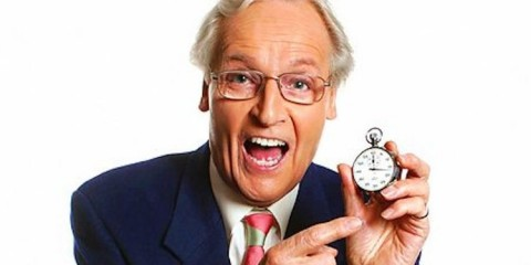 nicholas parsons presenter of just a minute