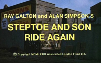 steptoe and son ride again title screen