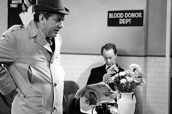Tony Hancock Blood Donor