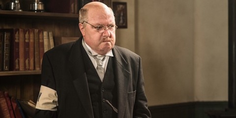 john sessions as arthur lowe in the 2015 BBC TV drama the dad's army story