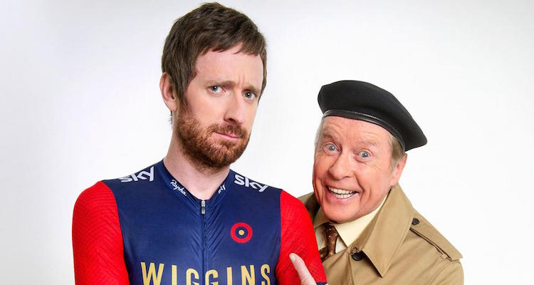 Michael Crwford is to reprise his role as frank spencer alongside bradlet wiggins for sport relief 2016