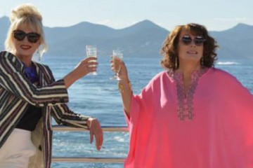 jennifer saunders and joanna lumley living the high life in absolutely fabulous the movie