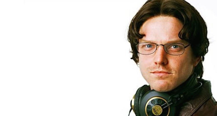 rhys thomas plays spoof dj gary bellamy in bbc radio 4's down the line