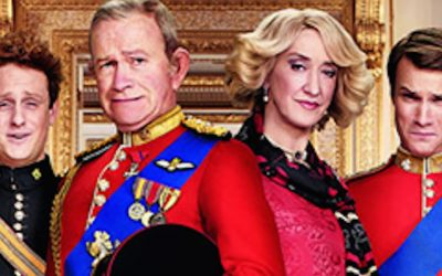 channel 4 go regal with their sitcom the windsors