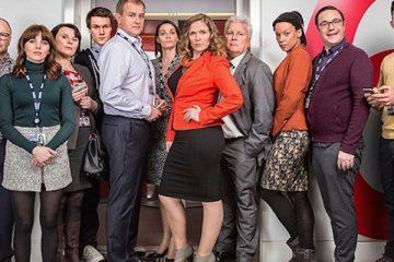cast of the hit bbc sitcom w1a
