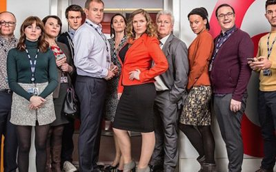 cast of the hit bbc sitcom w1a