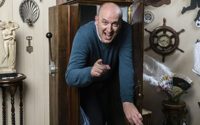 master of the pun Tim Vine turns his hand to time travel in Tim Vine travels through time