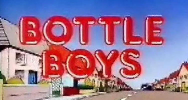 Title card from itv sitcom bottle boys