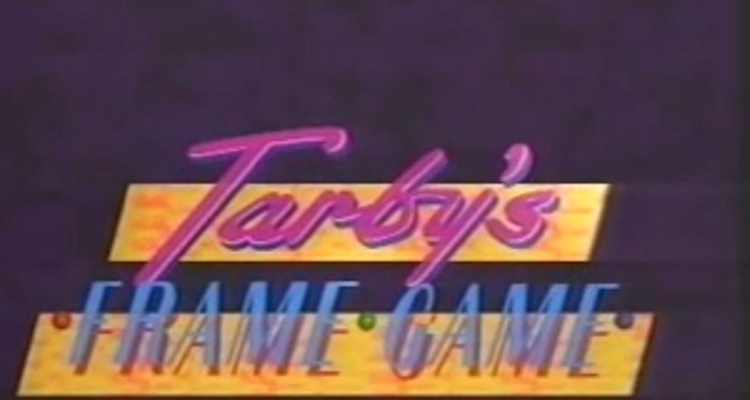title card to tv game show tarby's frame game