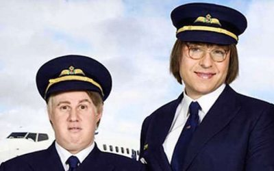 david walliams and matt lucas's hugely popular follow up to little britain was come fly with me
