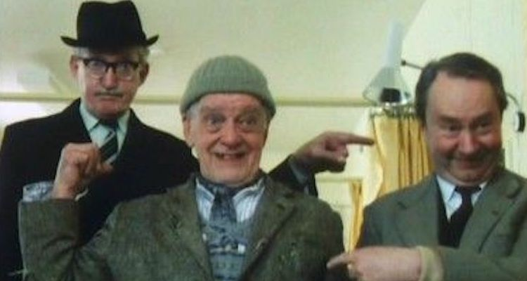 Bill Owen, Peter Sallis and Brian Wilde star in the very first feature length episode of last of the summer wine: getting sam home