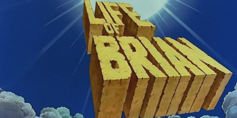 title card for the monty python film life of brian