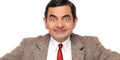 rowan atkinson is Mr Bean in the hit TV shows of the same name
