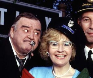 paul shane, jeffrey holland and su pollard are re-united for David Croft's last BBC sitcom: Oh Doctor Beeching