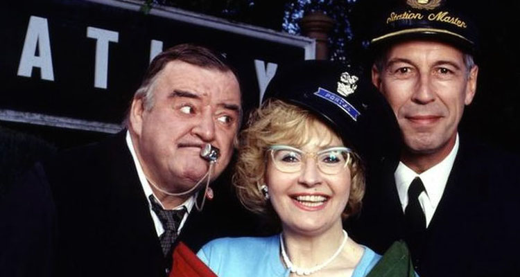 paul shane, jeffrey holland and su pollard are re-united for David Croft's last BBC sitcom: Oh Doctor Beeching