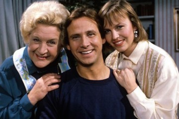 Mollie Sugden stars alongside Christopher Blake and Jennifer Lonsdale in the hit 1980's comedy that's my boy