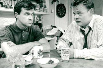 harry enfield played dermot for the original series of men behaving badly