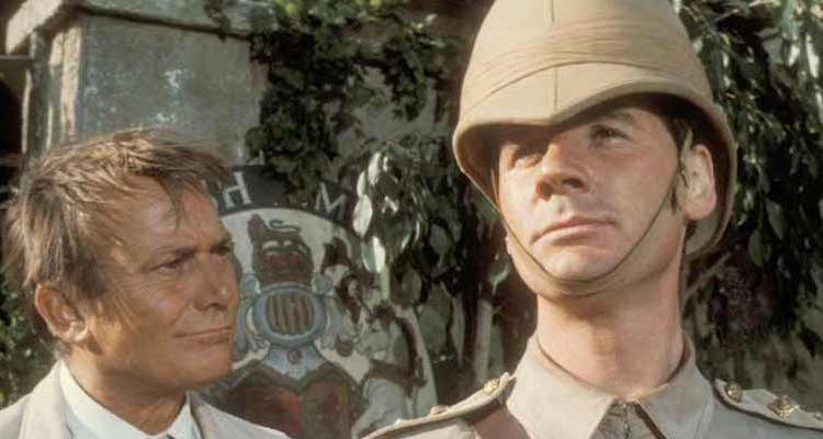 Michael Palin stars in ripping yarns an often forgotten 1970's comedy series from the BBC