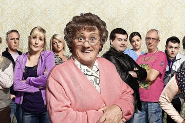 Mrs Browns Boys cast star in the hit tv series of the same name, da movie and now a live tv episode