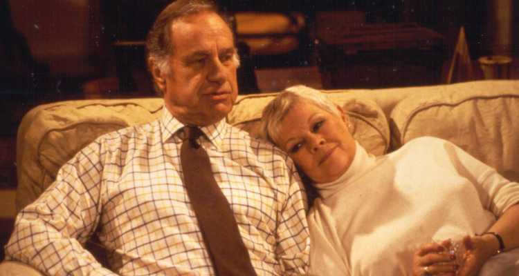 geoffrey palmer and judi dench let time go by on the sofa starring in as time goes by