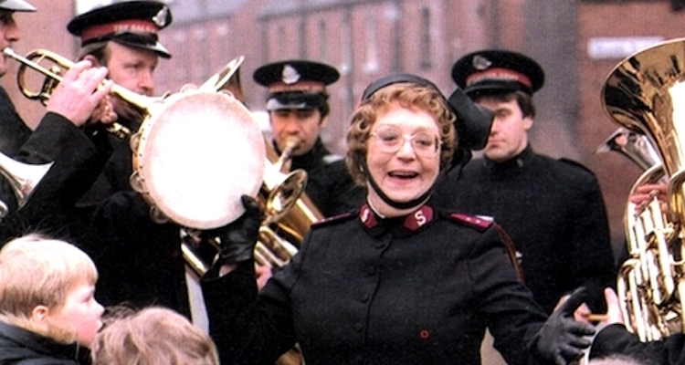 The late Dame Thora Hird starred in the ITV sitcom Hallelujah! about a salvation army captain