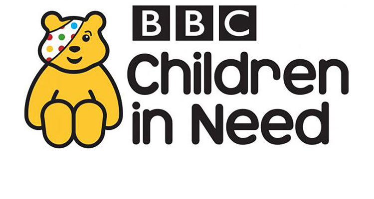 bbc children in need appeal official pudsey logo
