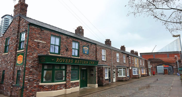 the famous cobbles of weatherfield that are coronation street