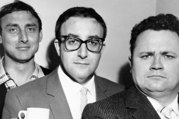 harry secombe, peter sellers and spike miilgan began their classic goon show in the 1950's