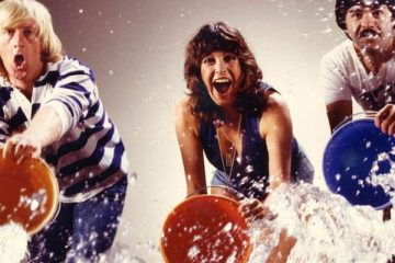 chris tarrent, sally james and bob carolges present tiswas