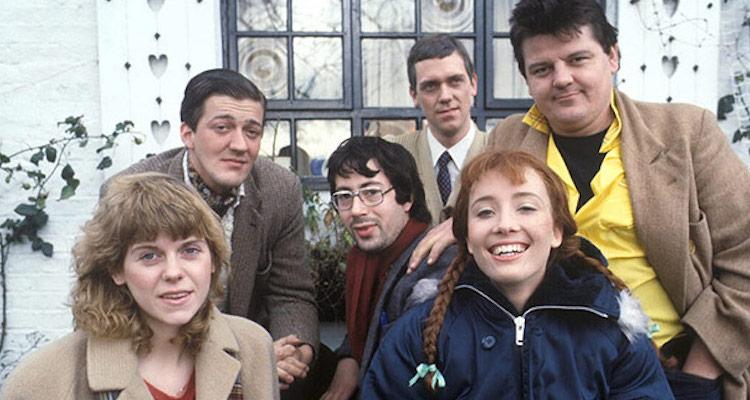 cast of the hit itv 1980's sketch show alfresco