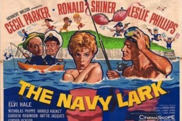 screenshot of the poster for the 1959 Navy lark movie