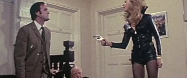 John Cleese, connie booth and Arthur Lowe star in the strange case of the end of civilisation as we know it