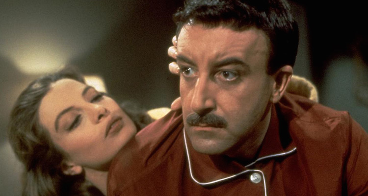 Peter Sellers stars in the first Pink Panther film 1963