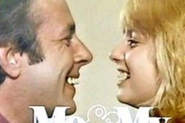richard o'sullivan and joanna ridley star in the itv sitcom me and my girl