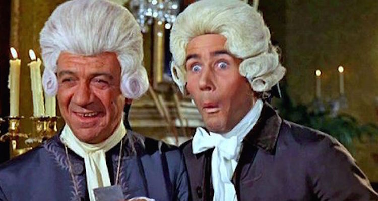 sid james and jimdale take the lead in the thirteenth carry on film don't loose your head