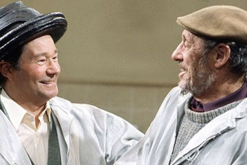 Proving there's life after on the buses Reg Varney stars in the ITV comedy Down the gate