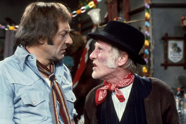 Steptoe and son come together for one last christmas, will harold finally win the day?
