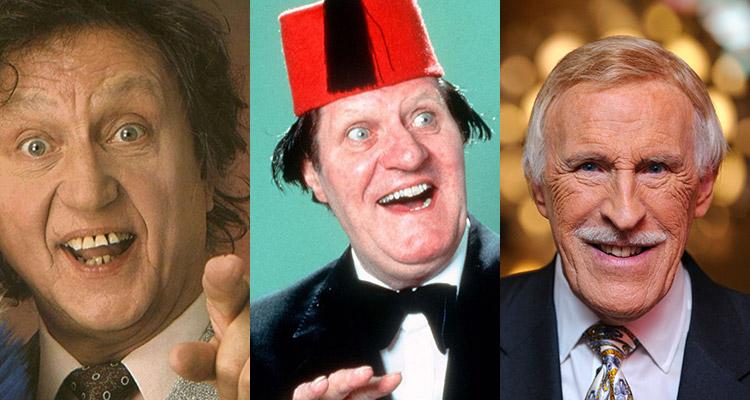 Ken Dodd, Bruce Forsyth, Tommy Cooper