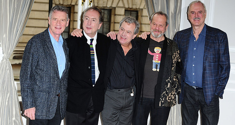 monty python re-unite for 02 shows