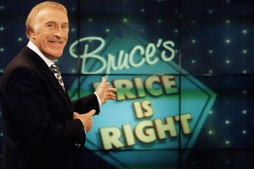 Bruce Forsyth takes over as prersenter of The Price Is Right