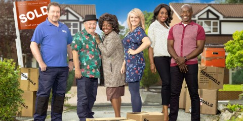 Sky TV's hit comedy drama Mount Pleasant