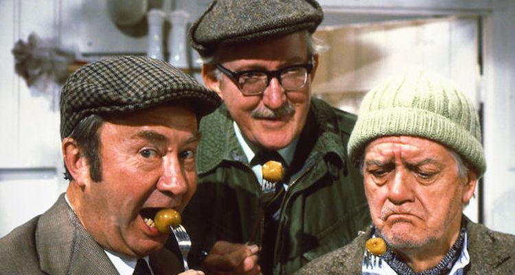 Foggy, Clegg and compo in last of the summer win'e 1979 BBC Christmas special