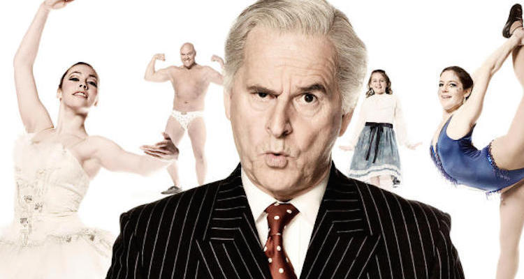 trevor eve stars as hughie green in most sincerely part of the BBC corse of comedy season