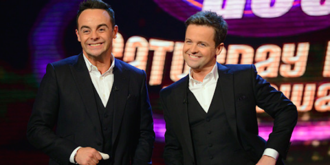 Ant and Dec at the launch of their 2015 Saturday night takeaway series